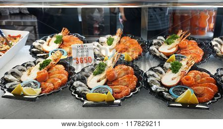 Lobster Platter Sold In Sydney Fish Market