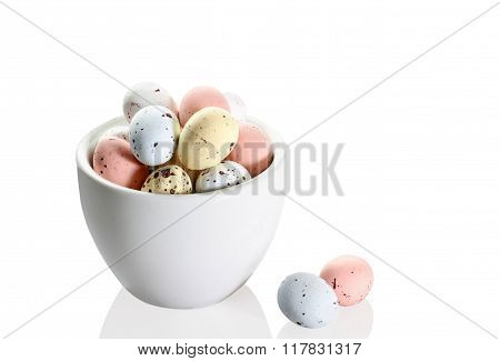 Italian Easter Sweets - Candied Shaped  Egg Chocolates