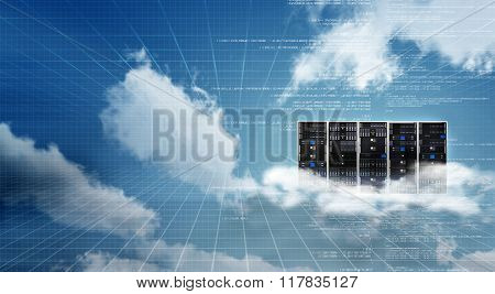Internet Cloud Server Cabinet