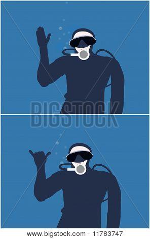 Diver signals