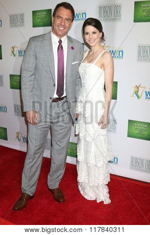 LOS ANGELES - FEB 10:  Mark Steines, Julie Freyermuth at the 17th Annual Women's Image Awards at the Royce Hall on February 10, 2016 in Westwood, CA