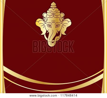 Ganesha The Lord Of Wisdom Raster Art