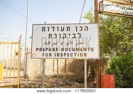 'Prepare Documents For Inspection