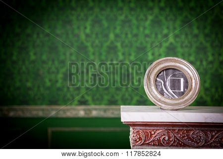 Vintage Photo Frame With Copyspace On Vintage Background