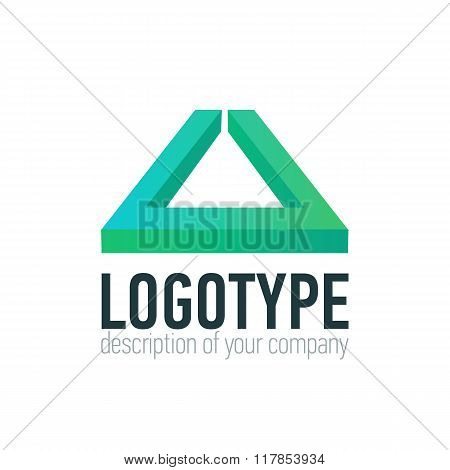 Letter U logo icon design template elements