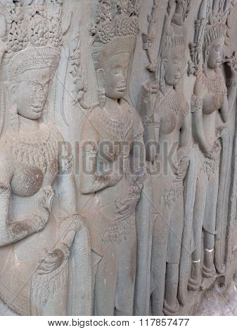 Four Apsaras