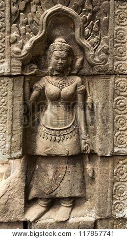 Ta Phrom Apsara