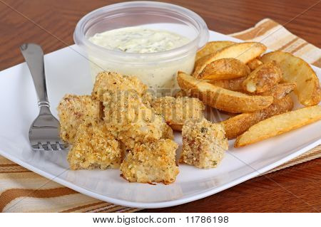 Breaded Fish Nuggets