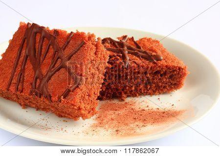 Traditional Czech Sweet Cake