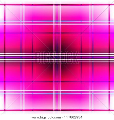 Seamless Vivid White-purple Checkered Pattern