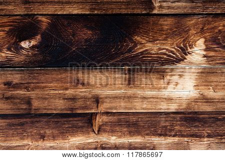 Wood Sunburned Old Brown Background Texture
