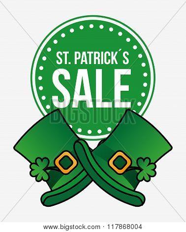 saint patricks sale design
