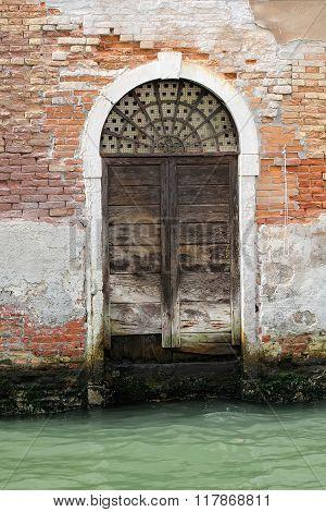 Venetian Wooden Door