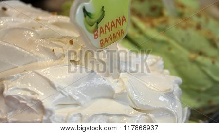 Banana Gelato Italian Ice Cream