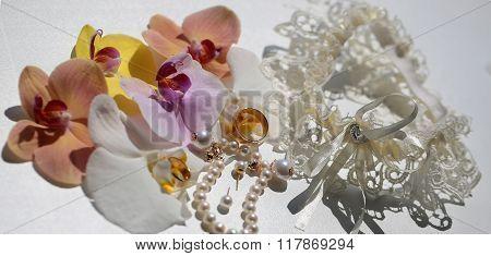 Adorable Bridal Wedding Accessories