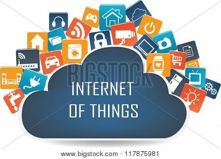 Internet Of Things Concept And Cloud Computing Technology