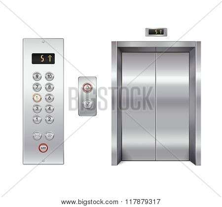 Elevator design set