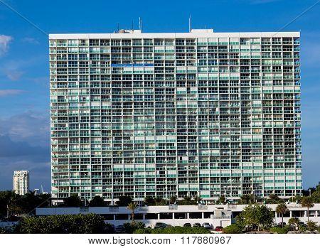 Massive White Condo Building