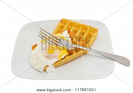 Waffles And Egg