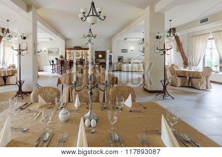 Banquet In Posh Restaurant