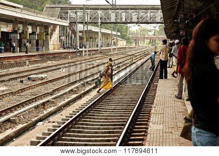 People go on rails