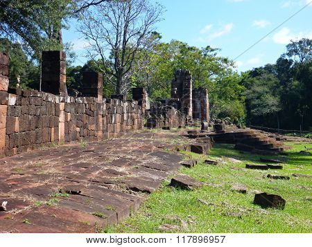 Ruins Of Jesuit Missions In Argentina