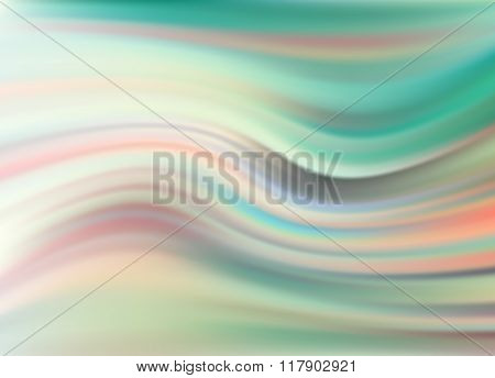 Abstract Modern Wavy Flowing Background Vector Elegant Wave Eps10