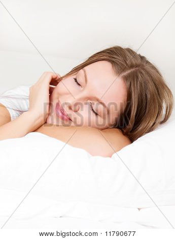 Girl In Bed
