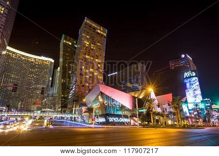 View Of The Strip  In Las Vegas.