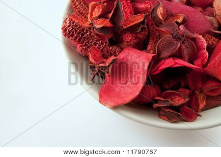 Bowl of Red Potpourri