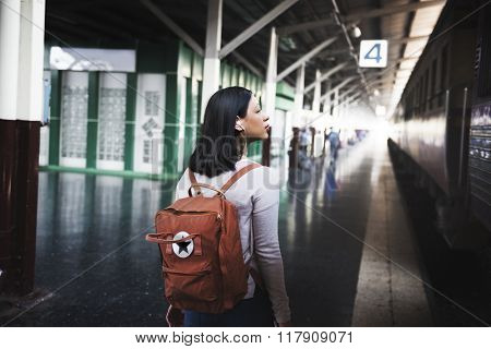 Travel Commuter Destination Tourist Concept