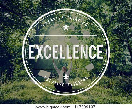 Excellence Excellent Expert Expertise Ability Smart Concept