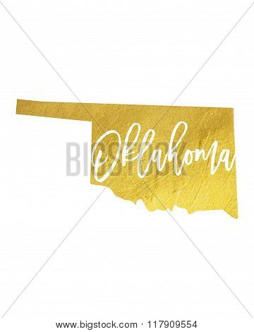 Oklahoma Gold Shining Paint