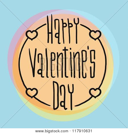 Happy valentines day cards design. Valentines design greetin cards illustration. Valentine Day vector illustration. Valentine cards design elements. Valentines Day design