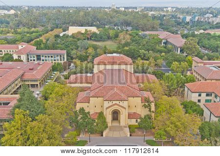 Stanford Campus At Palo Alto