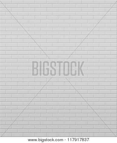 White wall. Vector background. Eps10.
