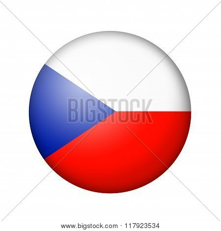 The Czech flag
