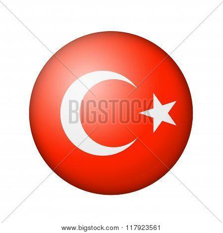 The Turkish flag