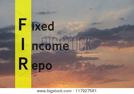 Fixed Income Repo