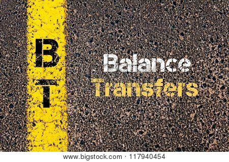 Business Acronym Bt Balance Transfers