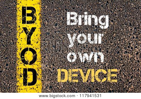 Business Acronym Byod Bring Your Own Device