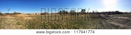 Rural Panoramic Landscape