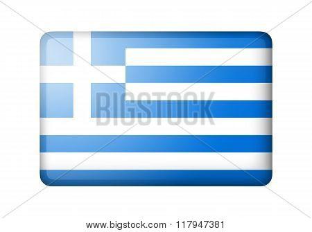 The Greek flag