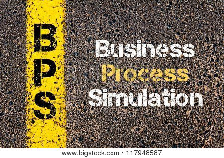Business Acronym Bps Business Process Simulation