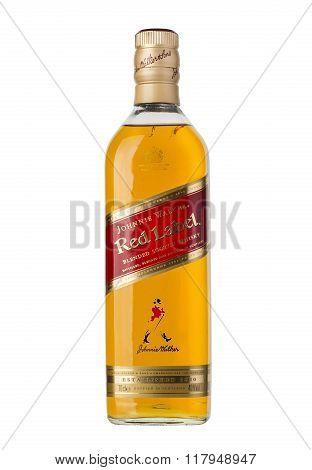 CHISINAU MOLDOVA - December 25 2015: Photo of a botle of