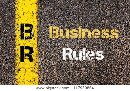 Business Acronym Br Business Rules