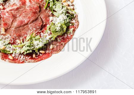 meat carpaccio