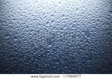 Foggy Window Background