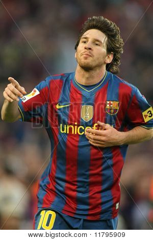 Leo Messi von Barcelona