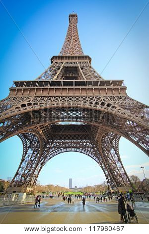 Eiffel tower, Paris, France - one of the simbols of this city